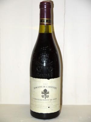 Millesime prestige Vallée du Rhône Domaine de l'Arnesque 1987 Julien Biscarat