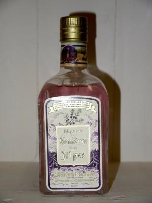 Grand Liqueur  Liqueur au Genièvre des Alpes Années 50 Distillerie A.Meunier
