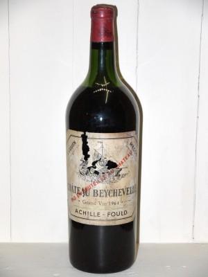 Vins de collection Saint-Julien Magnum Château Beychevelle 1964