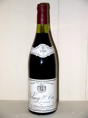 Grands vins Volnay Volnay 1er Cru 1985 Domaine Rossignol-Jeanniard