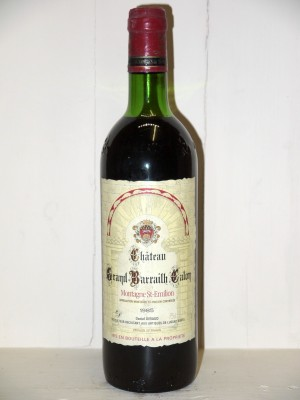 Château Grand Barrailh Calon 1985