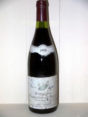 Bourgogne Hautes côtes de Beaune 1990 Domaine Gilbert Germain