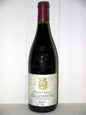 Grange Rouge Gigondas 1999 Domaine Pierre Amadieu