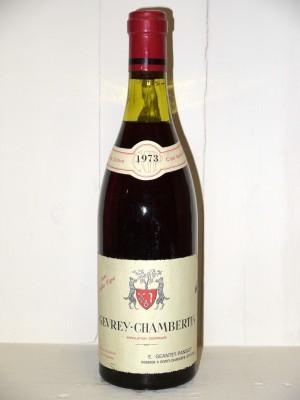 "Gevrey-Chambertin ""Vieilles Vignes"" 1973 Domaine Geantet-Pansiot"