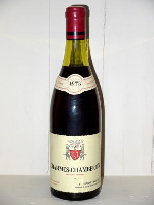Charmes-Chambertin 1973 Domaine Geantet-Pansiot