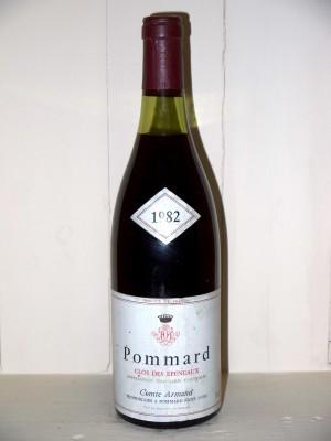 Grands vins Pommard Pommard 1982 Clos des Epeneaux Comte Armand