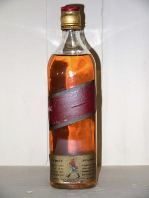 Whisky ancien   Johny Walker Red Label Années 70