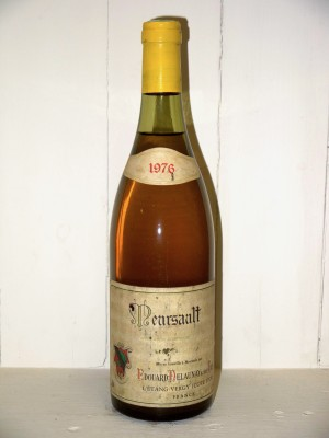 Grands vins Meursault Meursault 1976 Edouard Delaunay et fils