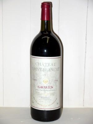 Vins anciens Pessac-Léognan - Graves Magnum Château Saint-Blancat 1998