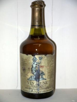 Millesime prestige Jura Vin jaune Arbois 1983 Henri Maire Château de Montfort