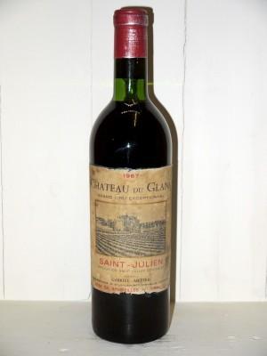 Vins de collection Saint-Julien Château du Glana 1967