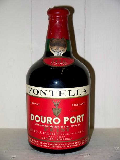 Douro Port Fontella 1938 Feist en étui