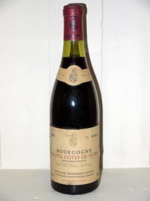 """Bourgogne Hautes Cotes de Nuits 1983 """"Cuvée des Dames de Vergy"""" Domaine Dominique Guyon"""