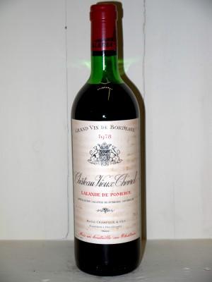 Château Vieux Chevrol 1978