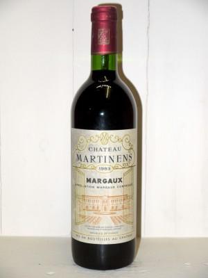 Château Martinens 1983