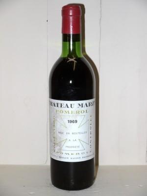 Château Marzy 1969