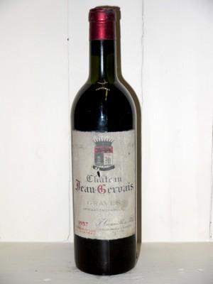 Vins de collection Pessac-Léognan - Graves Château Jean Gervais 1957