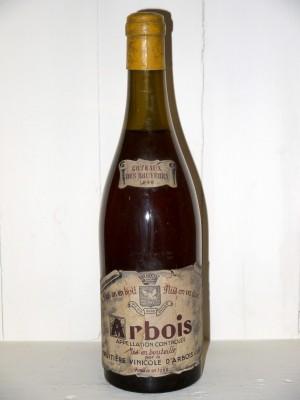 """Arbois """"Côteaux des Bruyères"""" 1949 Fruitière vinicole d'Arbois"""