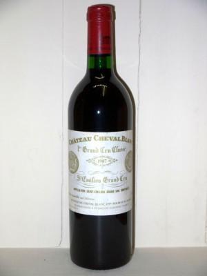 Grands vins Saint-Émilion Château Cheval Blanc 1987