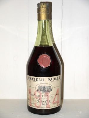 Cognac ancien   Château Paulet 1914 Très Vieille Fine Cognac