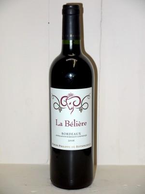 La Bélière 2006 Baron Philippe de Rothschild