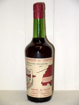 """Calvados du Domfrontais """"Réserve du Bocage"""" Albert Demeslay"""