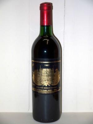 Grands vins Margaux Château Palmer 1987