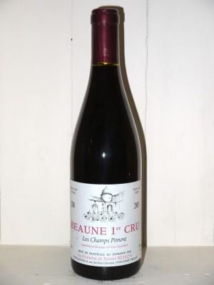 """Beaune 1er Cru """"Les Champs Pimont"""" 2000 Domaine Besson"""