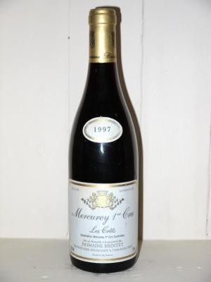 "Mercurey 1er Cru ""Les Crêts"" 1997 Domaine Brintet"