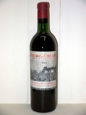 Grands vins Saint-Émilion Domaine de Chevalier 1962