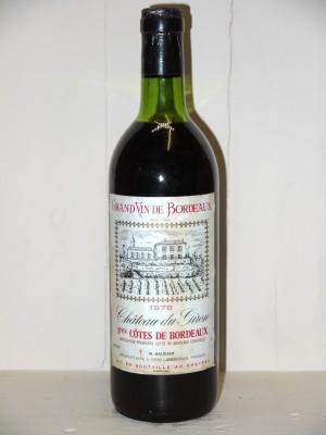 Vins anciens Autres appellations de Bordeaux Château du Giron 1978