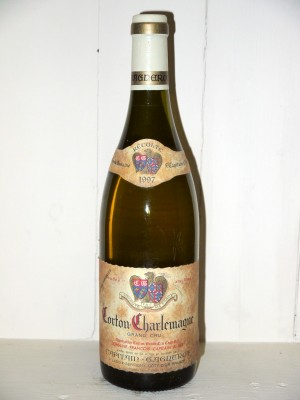 Corton-Charlemagne 1997 Maison Capitain-Gagnerot