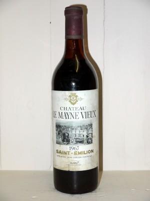 Grands crus Bordeaux  Château Le Mayne Vieux 1967