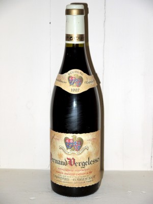 Vins de collection Bourgogne Pernand-Vergelesses 1997 Maison Capitain-Gagnerot