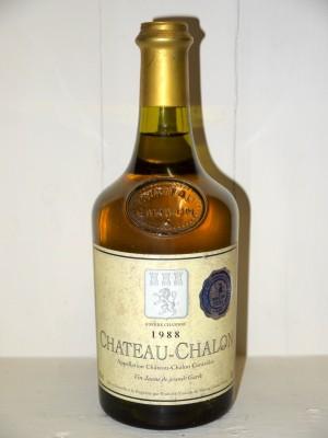 Grands vins Jura Château Chalon 1988 Fruitière Vinicole