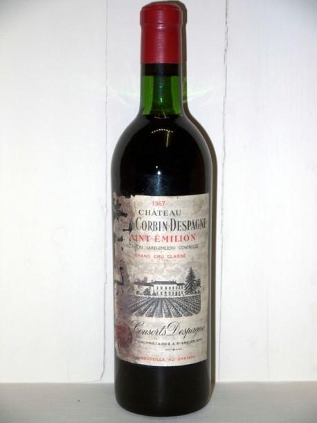 Château Grand Corbin Despagne 1968