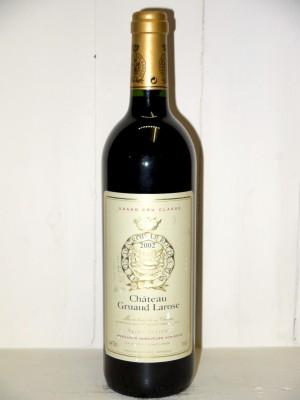 Vins grands crus Saint-Julien Château Gruaud Larose 2002