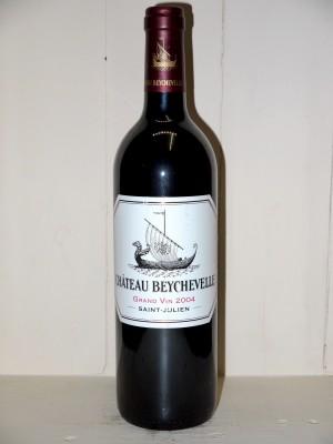 Vins grands crus Saint-Julien Château Beychevelle 2004