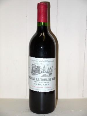 Vins anciens Margaux Château la Tour de Mons 1993