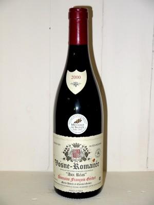 """Vosne-Romanée-Romanée """"Aux Réas"""" 2000 Domaine François Gerbet"""