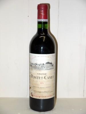 Château Pontet Canet 1974