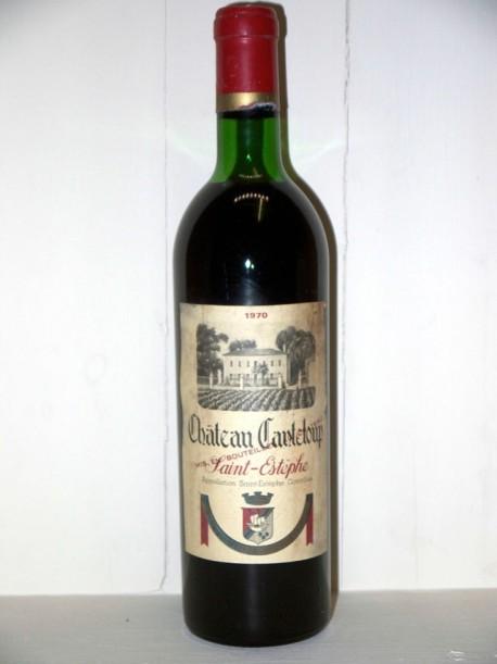 Château Canteloup 1970