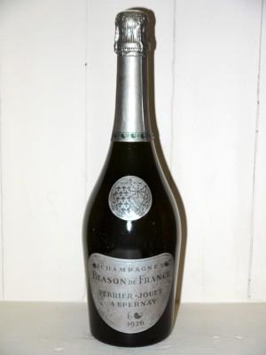 Champagne Blason de France 1976 Perrier-Jouët