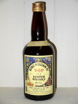Spirits de prestige  King William IV VOP Scotch Whisky John Gillon & Co LTD