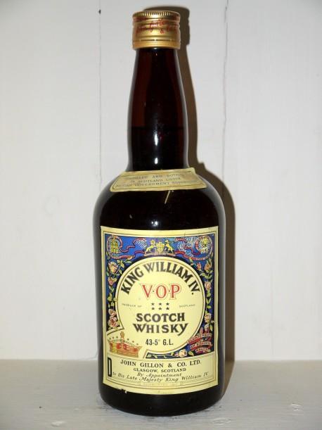 King William IV VOP Scotch Whisky John Gillon & Co LTD