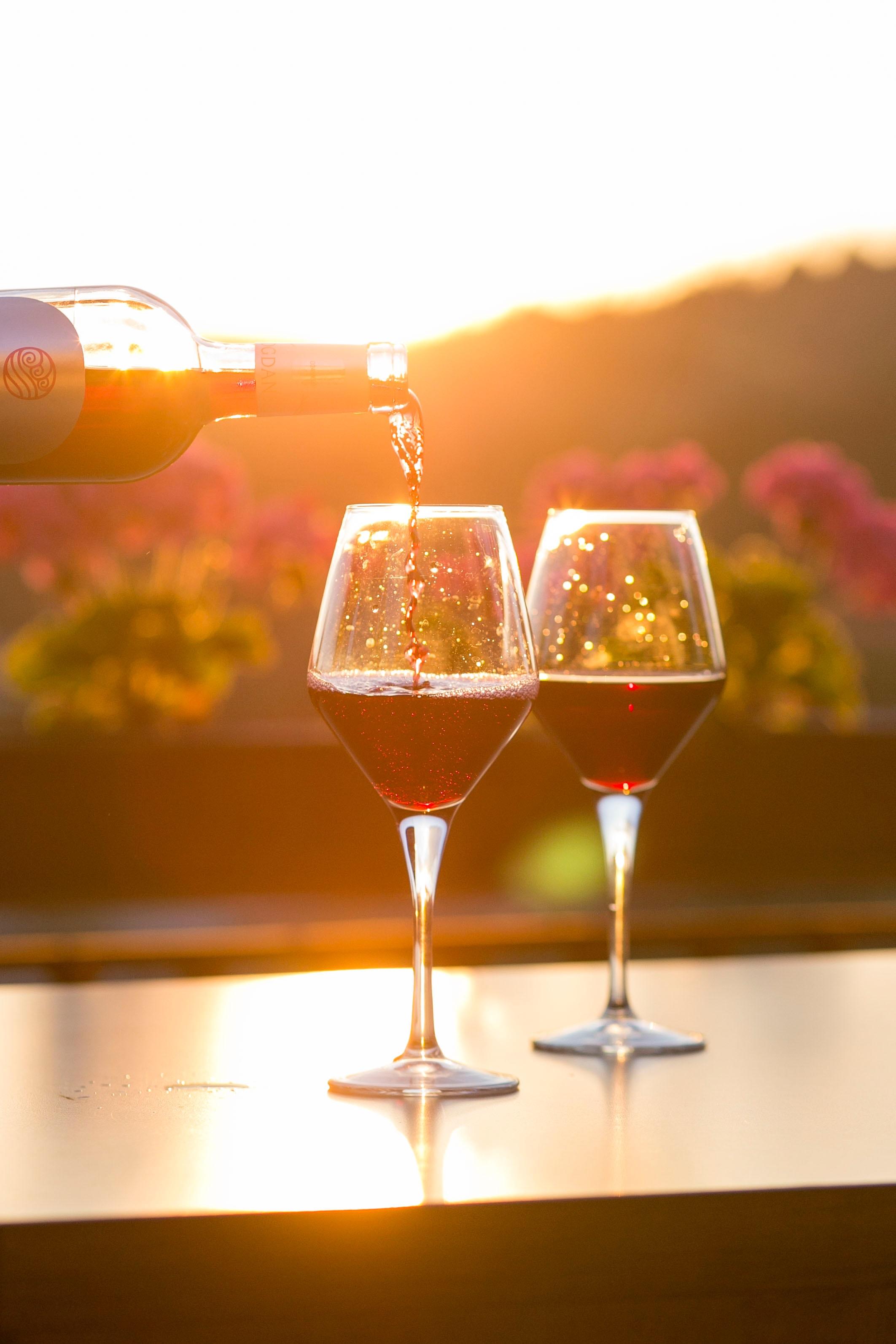 bouteille cru vin en zéro